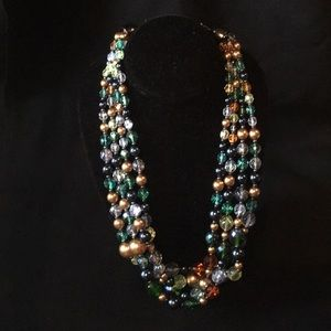 Joan Rivers Multicolor Beaded Necklace